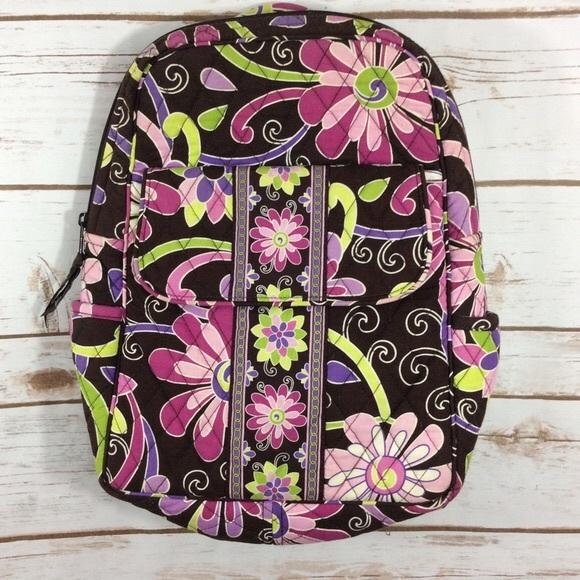 Mini Vera Bradley Backpack (purple punch). M 5b983cc05c4452fdf5e84e89 1cbbe7bc41